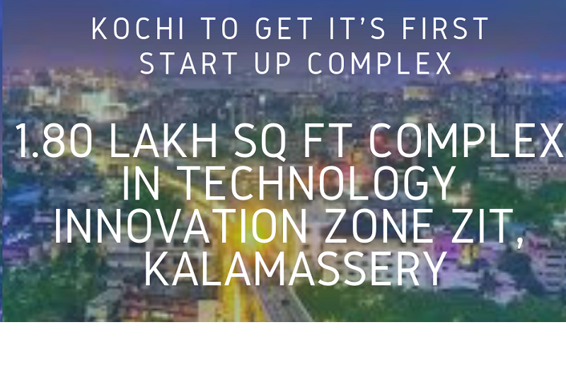 Kochi, home to India's largest startup complex.
