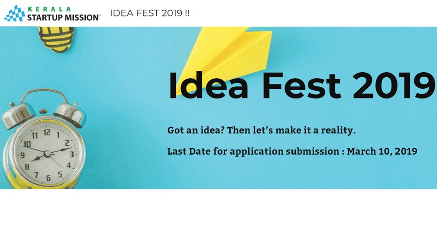 Kerala Startup Mission to Promote Innovations from Colleges through IDEA FEST