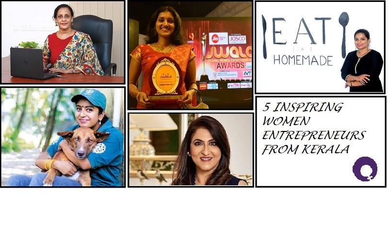 5 Inspiring Women Entrepreneurs from Kerala