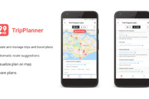 TripPlanner and Travalour – Two apps to create, manage and share trips and travel plans