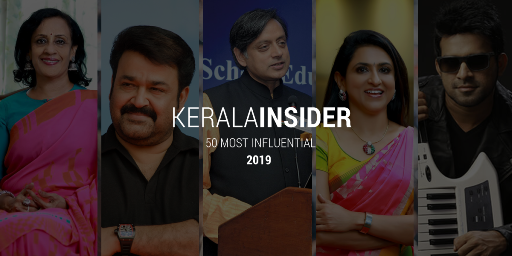 Influential people of kerala 2019