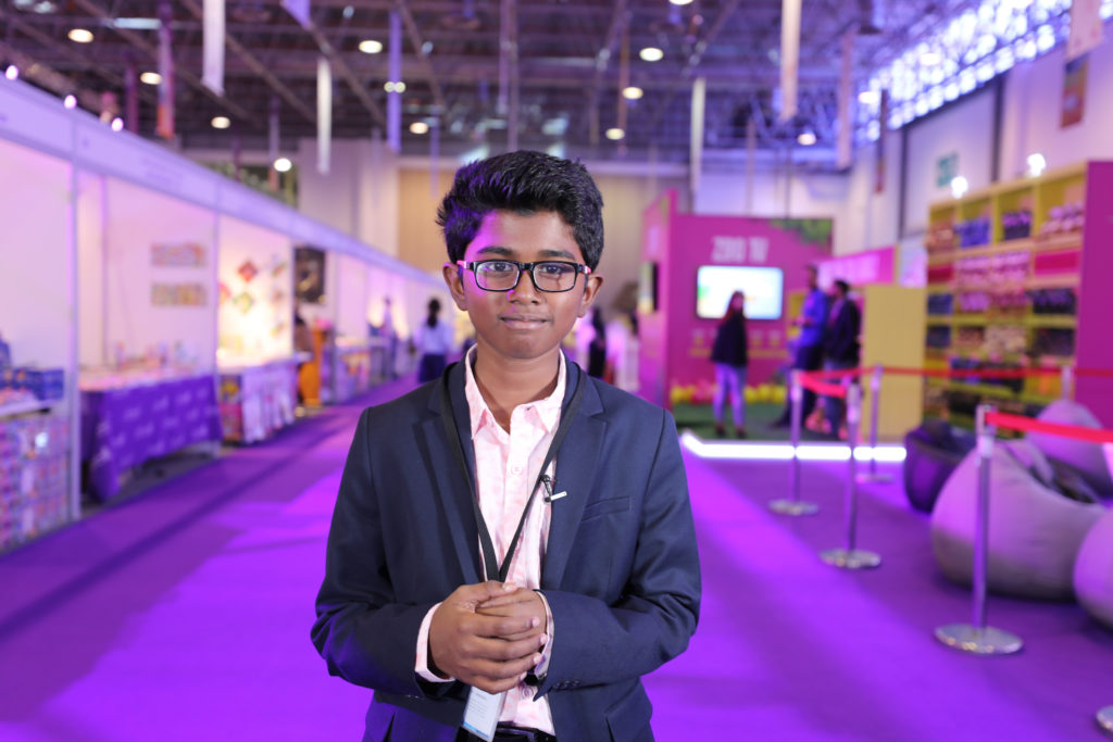 Aadithyan Rajesh- Meet the young CEO and tech genius