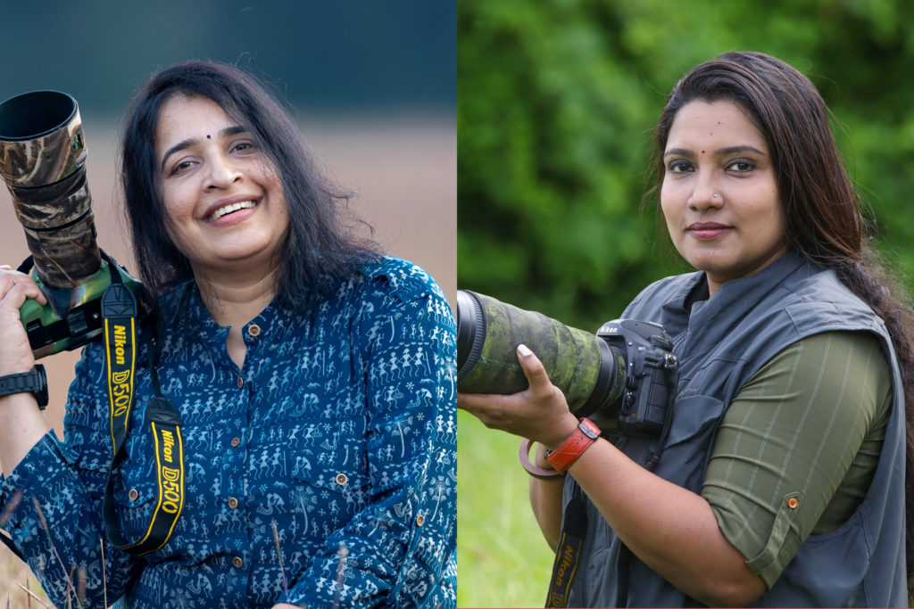 Kerala's Wildlife Photographers Seema Suresh and Aparna Purushothaman