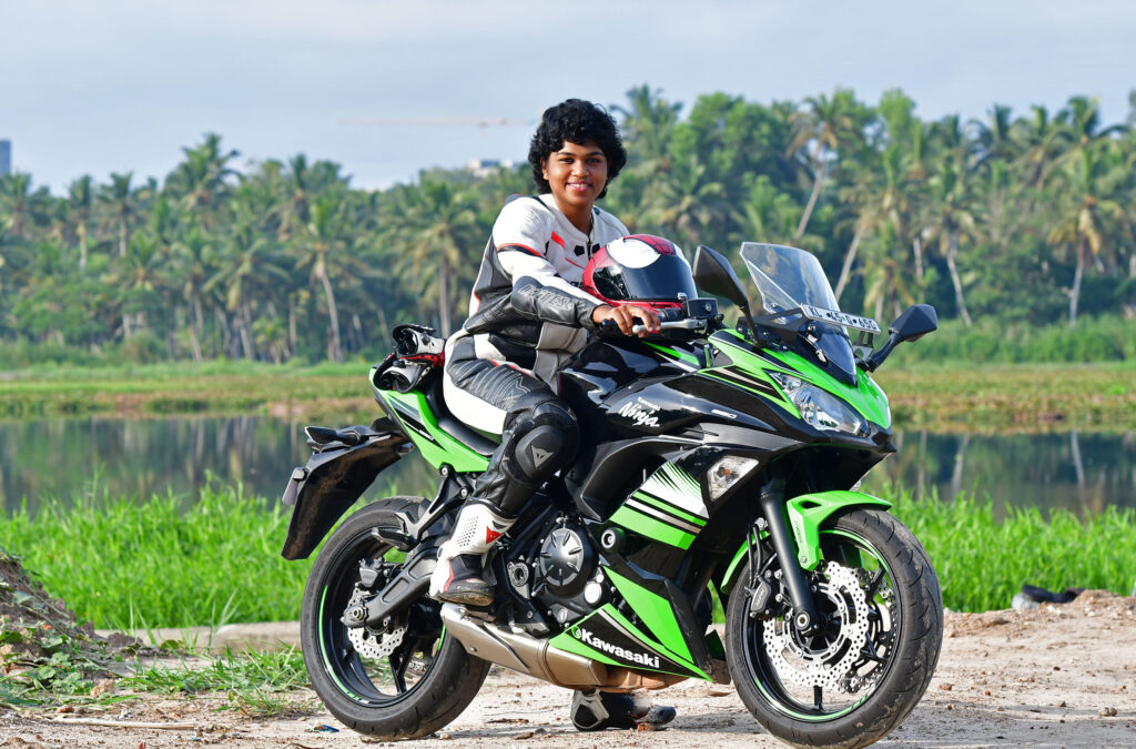 Czimkhy RV: Kerala's first Female Motorbike Racer