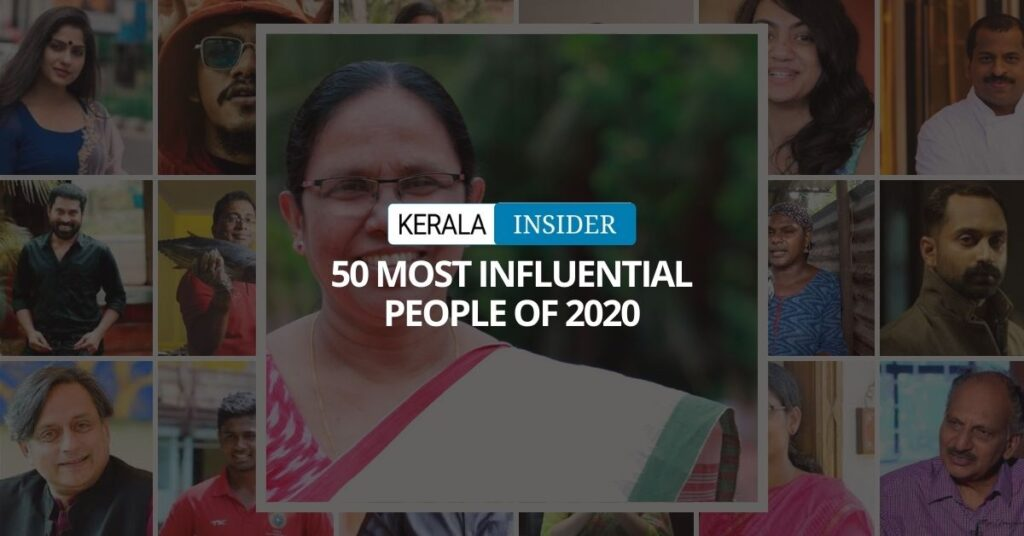 Kerala Insider's 50 Most Influential People of 2020
