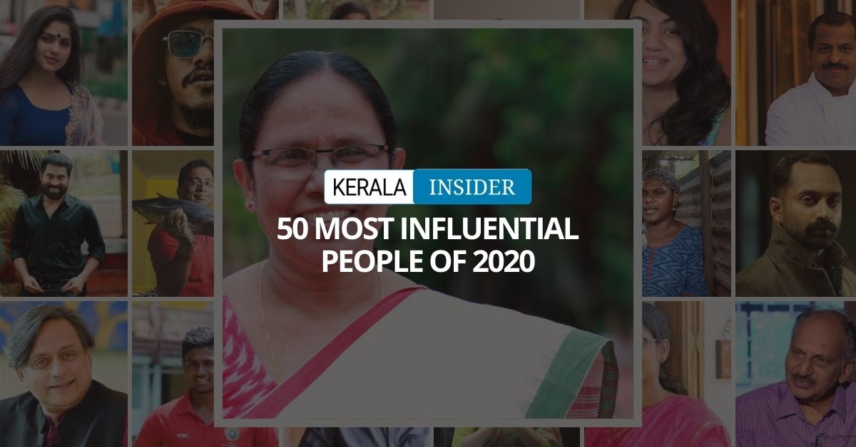 50 most influential people in kerala